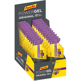 PowerBar PowerGel Original Box 24 x 41g, Black Currant with Caffein